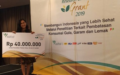 Nutrifood Research Center Grant 2019