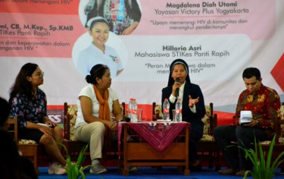 Seminar Keperawatan Mellenial Generation Against HIV